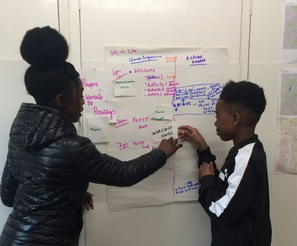 young people planning the youth service