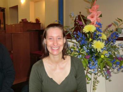 Sarah Hart, signing team member