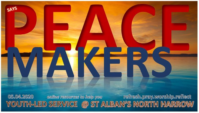 PeaceMakers: our current youth-group series
