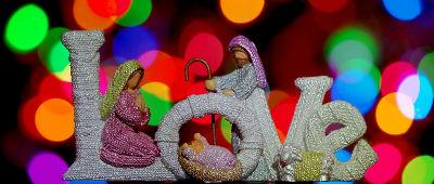 Love - Nativity Scene