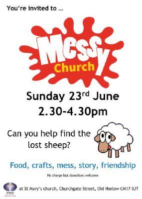 Messy Church June 2019