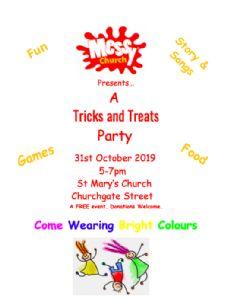 Oct 2019 Messy Church