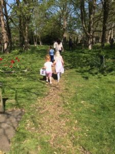 The Real Easter Egg Hunt - children 1