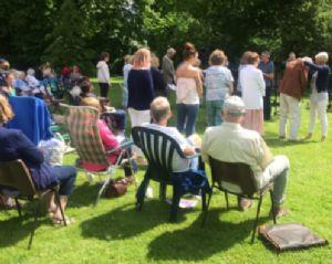 Pentecost - garden picnic