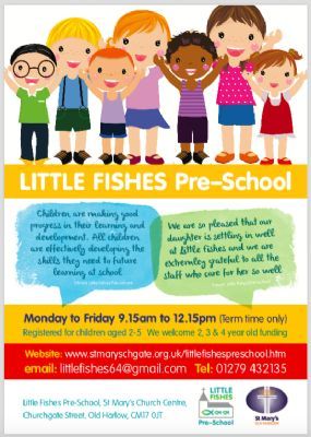 Little Fishes Advert