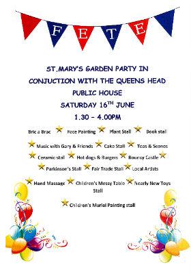 The Garden Party June 2018