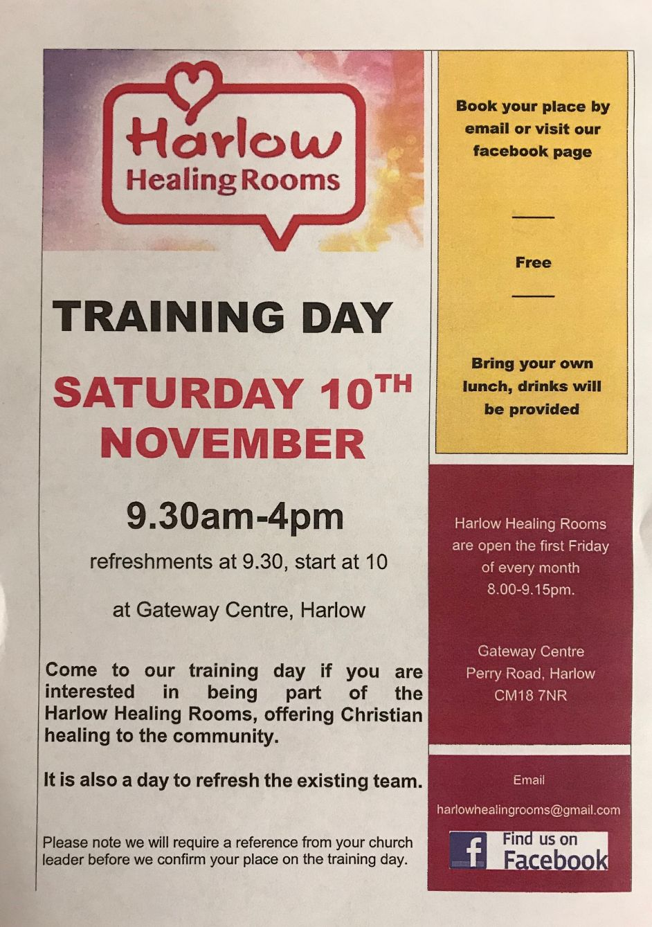 Harlow Healing Rooms