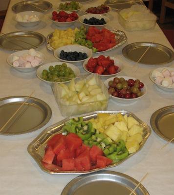 Messy Church Food 1