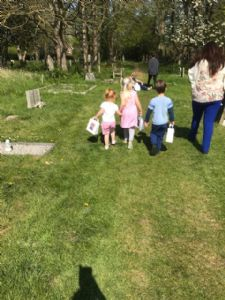The Real Easter Egg Hunt - children 2