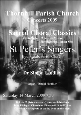 St Peters Poster 2009