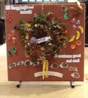 Wreath from Childrens Activity Harvest 2015