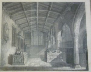 Savile Chapel prior to 1877