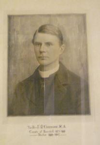 TPC Rector Rev Grenside 1889