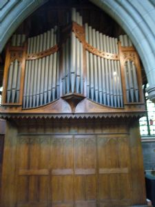 Organ case 1981 Binns