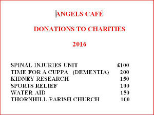 Angels Cafe to April 2016