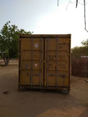 container has arrived