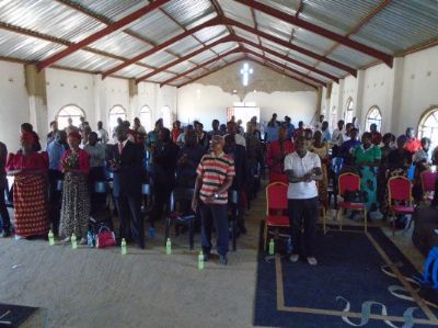 Pastors conference at Mizpah Pentecostal Assemblies of God