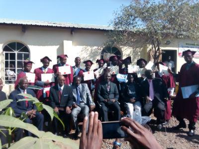 Jesus Way School of Evangelism - graduation 2018