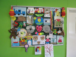 Toddler Time project board