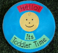 Toddler time logo
