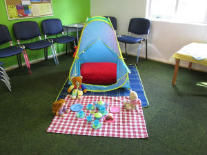 Toddler Time tent