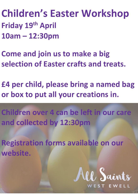 Easter workshop 2019