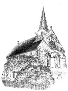 church scetch