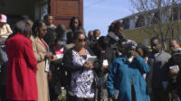 Open air service Good Friday 2012