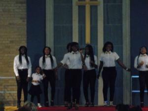 Ghanaian choir