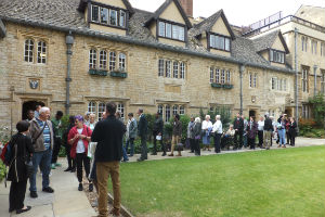 Our visit to St Edmund Hall