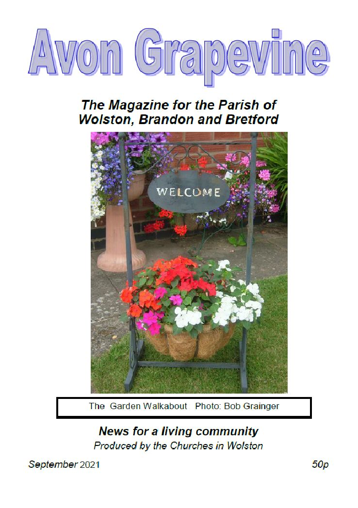 The front cover of the Avon Grapevine, September 2021