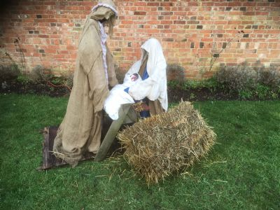 Mary and Joseph and the baby