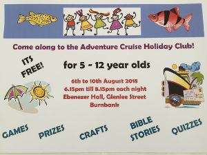 POSTER Flyer Holiday club 2018
