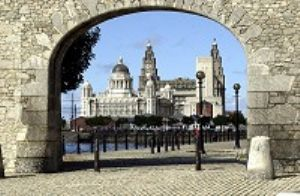 Liverpool waterfront arch