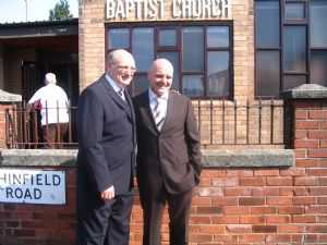 Pastor Will Williams and Pastor Dave Willis