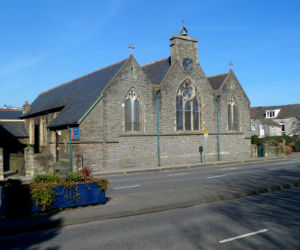 Christ Church, picture taken from Oystermouth Rd