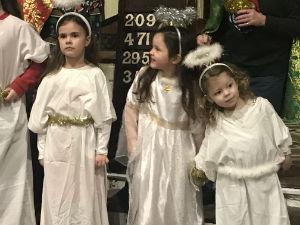 Christmas angels - small children