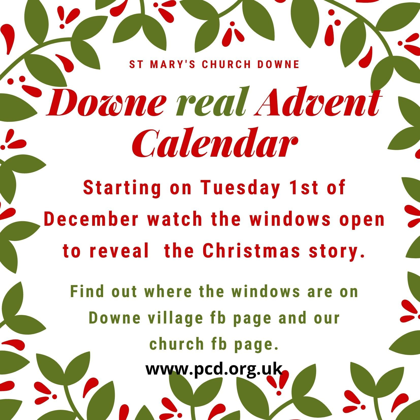Real advent launch 29th Nov
