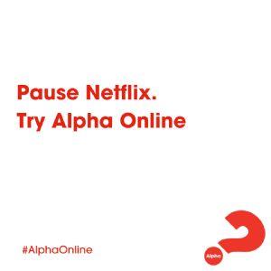 Alpha pause netflix