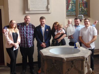 A Christening party
