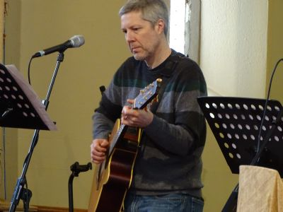 Richsrd leads the worship at Sunday @ 7.00 ish