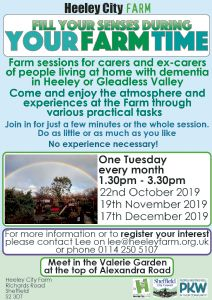Carers sessions