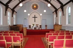 Wroughton Church inside