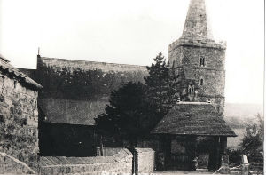 Old photo fo the church