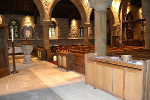 Looking to the North aisle