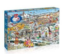 puzzle snow