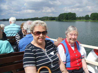Cruising on Rutland Water