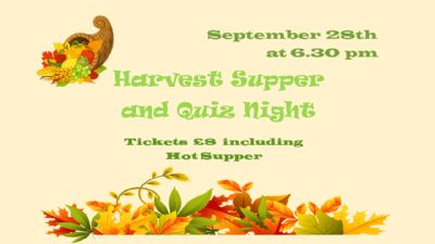 Harvest Supper 2019