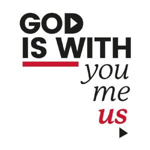 god with you and me and us