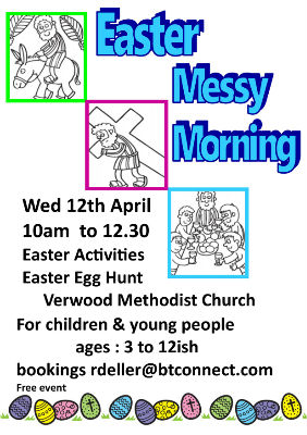 Easter Messy Morning